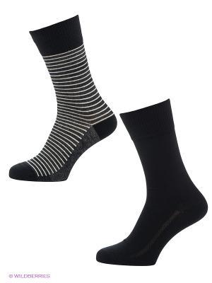 Носки, 2 пары Levi's®. Цвет: черный