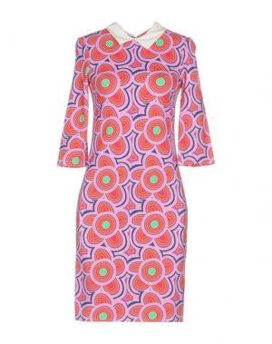 Короткое платье AGATHA RUIZ DE LA PRADA. Цвет: розовый
