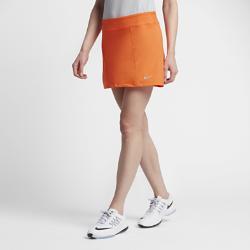 Юбка-шорты для гольфа  Dry 37 см Nike. Цвет: оранжевый