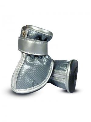 Ботинки для собак TRIOL. Цвет: серебристый