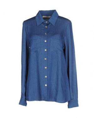 Джинсовая рубашка MONICA •LENDINEZ. Цвет: синий