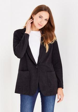 Пиджак Gap. Цвет: черный