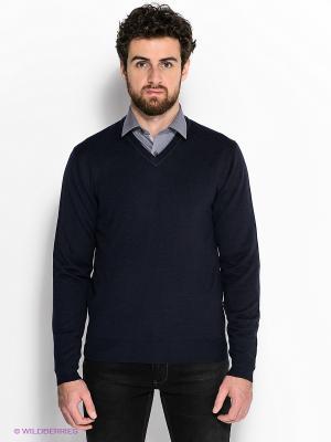 Пуловер GroStyle. Цвет: темно-синий