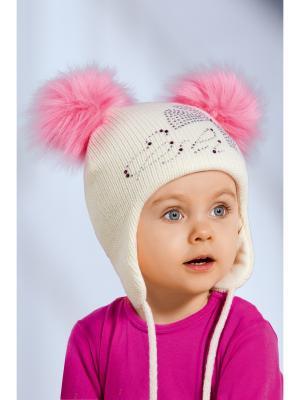 Шапка детская ESLI. Цвет: молочный