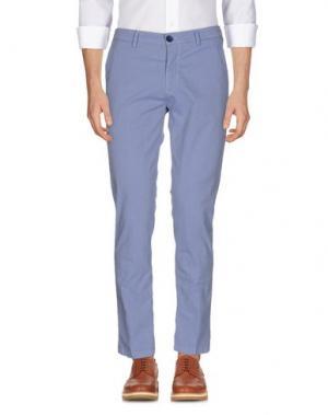Повседневные брюки YAN SIMMON. Цвет: небесно-голубой