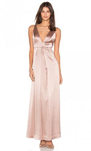 Вечернее платье v front JILL STUART. Цвет: румянец