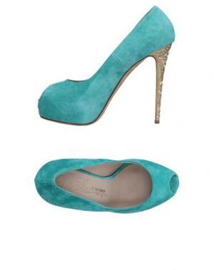 Туфли ENIO SILLA for LE. Цвет: светло-зеленый