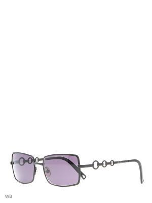Солнцезащитные очки LC 509 04 Les Copains. Цвет: черный