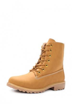Ботинки Pezzano. Цвет: желтый