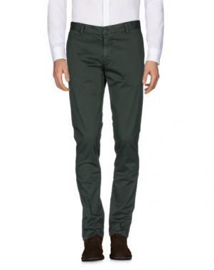 Повседневные брюки HERMAN & SONS. Цвет: зеленый