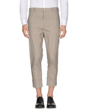 Повседневные брюки IMB I'M BRIAN. Цвет: голубиный серый