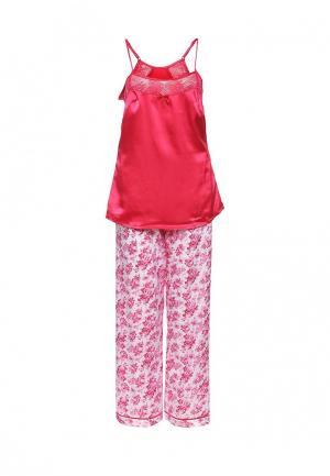 Пижама Infinity Lingerie. Цвет: розовый