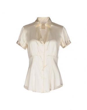 Pубашка GUGLIELMINOTTI. Цвет: слоновая кость