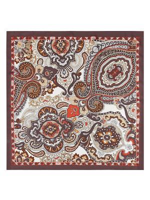 Платок Eleganzza. Цвет: коричневый, терракотовый