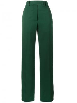 Брюки с полосками по бокам Calvin Klein 205W39nyc. Цвет: зелёный