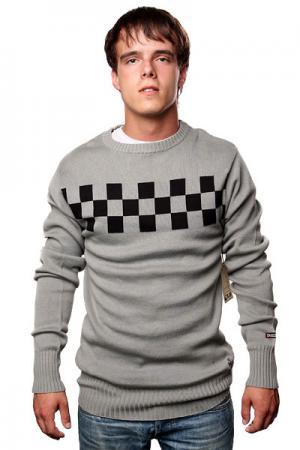 Свитер  Speed Crew Graphite/Black Independent. Цвет: черный,серый