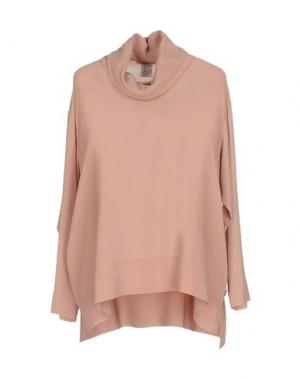 Блузка OTTOD'AME. Цвет: телесный