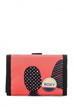 Кошелек Roxy. Цвет: коралловый
