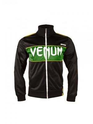 Олимпийка Venum Team Brazil Polyester Black. Цвет: черный