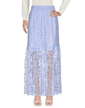 Длинная юбка TEMPTATION. Цвет: сиреневый