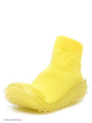 Пинетки SKIDDERS. Цвет: желтый