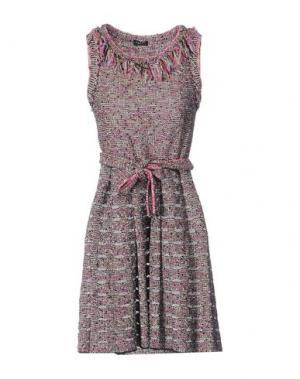 Короткое платье NEERA. Цвет: розовый