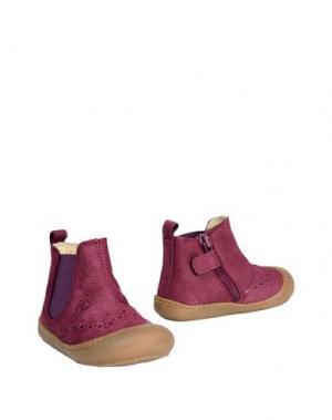 Полусапоги и высокие ботинки NATURINO. Цвет: розовато-лиловый