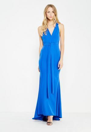 Платье MiraSezar. Цвет: синий