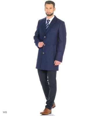 Пальто Valenti. Цвет: синий