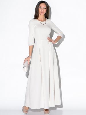 Платье Colambetta. Цвет: молочный