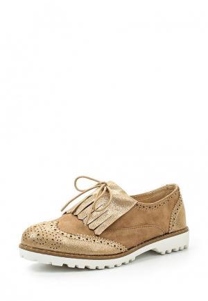 Ботинки Guapissima. Цвет: бежевый
