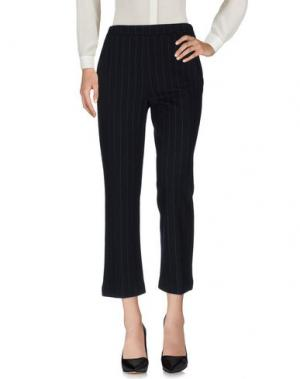 Повседневные брюки ODEEH. Цвет: темно-синий