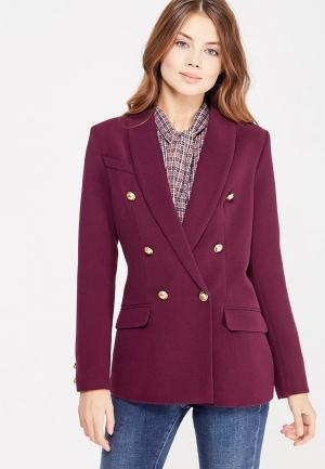 Пиджак Self Made. Цвет: бордовый