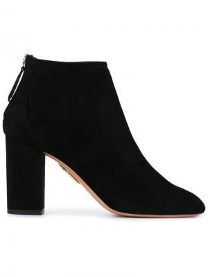 Ботинки Downtown Aquazzura. Цвет: чёрный