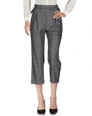 Повседневные брюки ANDREA MORANDO. Цвет: серый