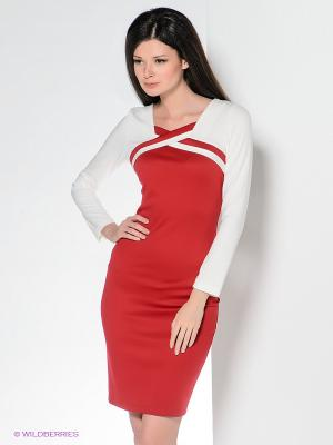 Платье Enna Levoni. Цвет: красный