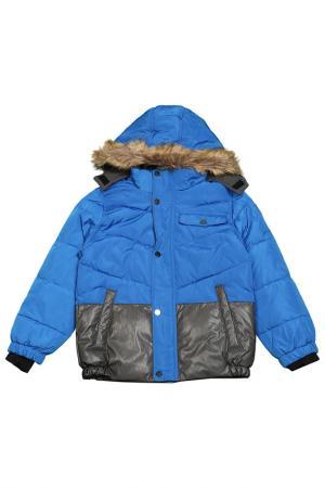 Куртка с застежкой на молнию и кнопки Versace 19.69. Цвет: синий
