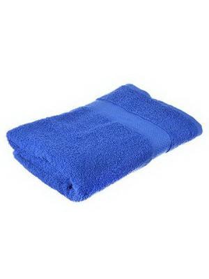 Полотенце махровое KONONO. Цвет: синий