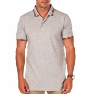RUSTY OVERS S/S POLO SS14 GREY MARLE L. Цвет: grey marle