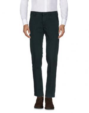 Повседневные брюки MICHAEL COAL. Цвет: темно-зеленый