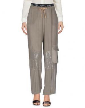 Повседневные брюки DANIELA DALLA VALLE ELISA CAVALETTI. Цвет: зеленый-милитари