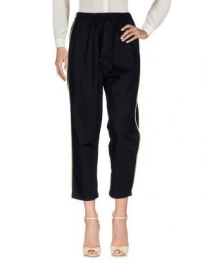 Повседневные брюки MALPH. Цвет: черный