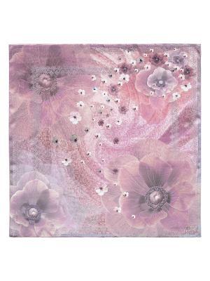 Платок Eleganzza. Цвет: серый, бледно-розовый, лиловый, розовый