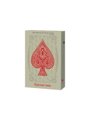 Игральные карты Красные пики Magellan. Цвет: желтый