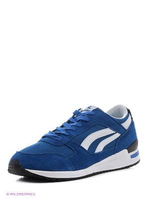 Кроссовки Sigma. Цвет: синий
