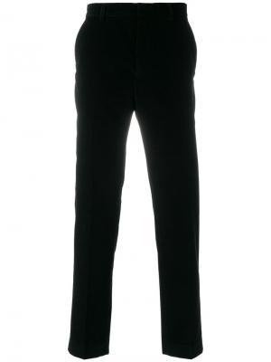 Прямые брюки Harmony Paris. Цвет: чёрный