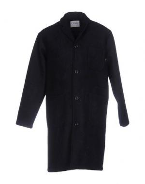 Пальто CAMO. Цвет: темно-синий
