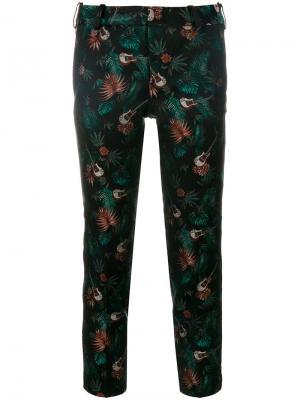Укороченные брюки с принтом Zadig & Voltaire. Цвет: многоцветный