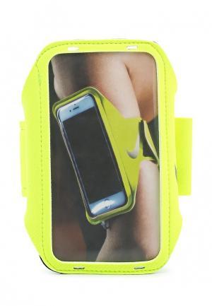 Чехол для телефона Nike. Цвет: желтый