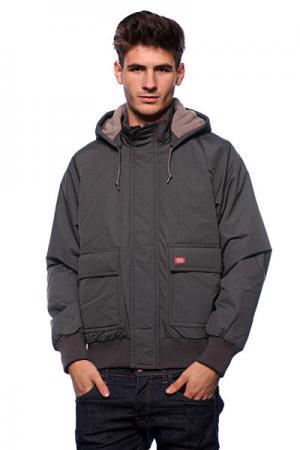 Куртка зимняя  Keane Jacket Charcoal Dickies. Цвет: серый